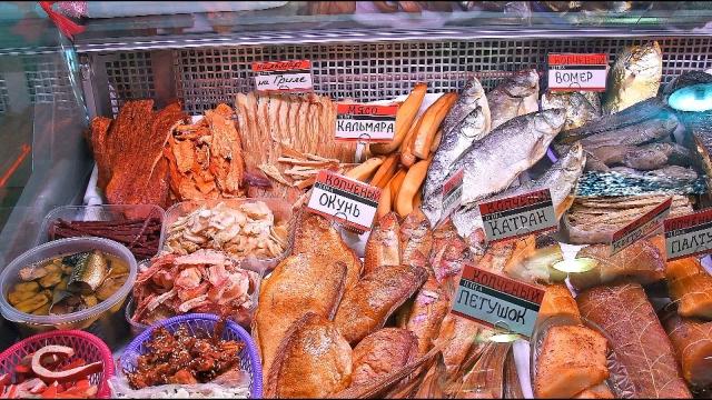 Рыбный рынок Чайка