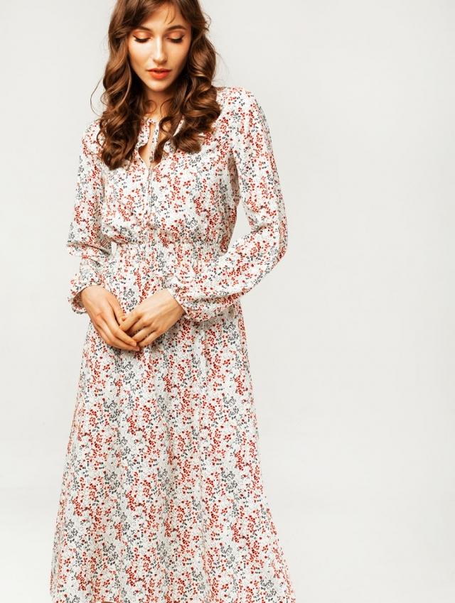 платье в цветочный принт Marsee's