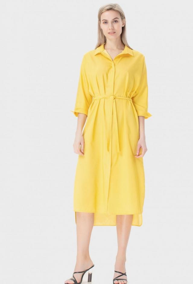желтое платье GRASS