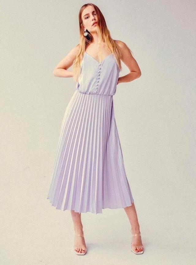 платье с плиссировкой «Марі каже «Так!»