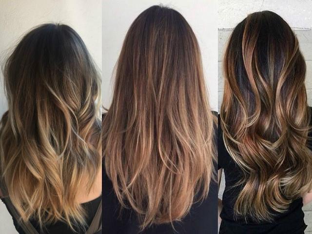 Балаяж – модная техника окрашивания волос 2016