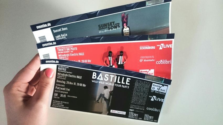 Подарок на день рождения билет на концерт