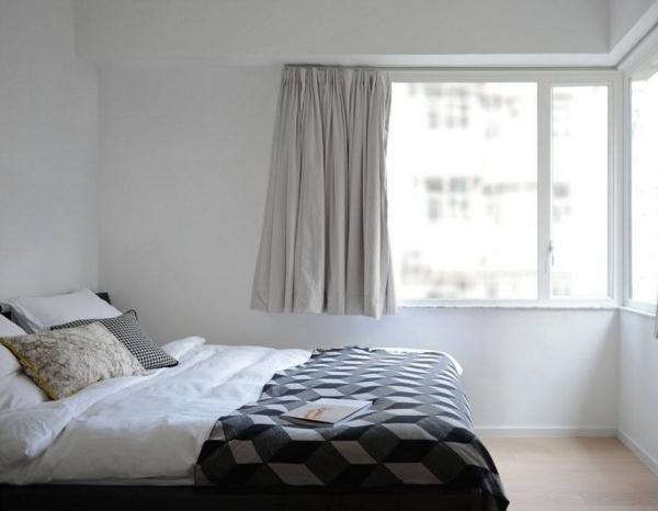 дизайн спальни в белом цвете фото 2016
