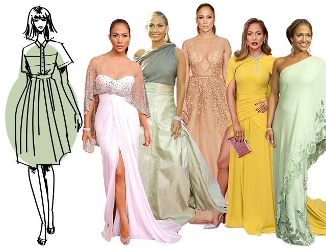 Как подобрать платье фигура груша
