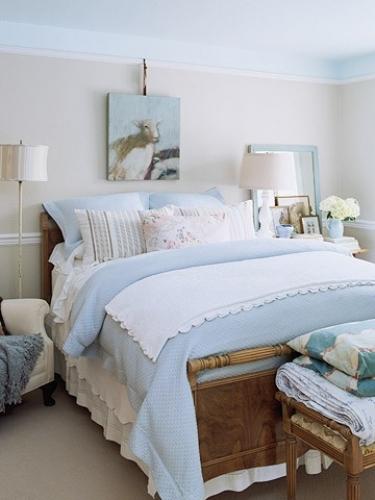 спальня в стиле кантри фото 2016