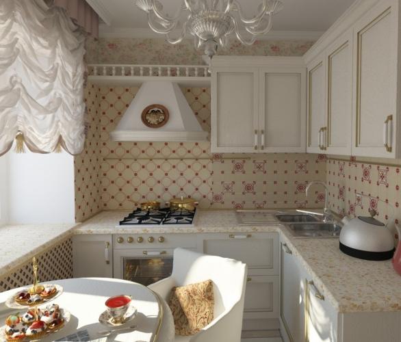 классический стиль интерьер кухни