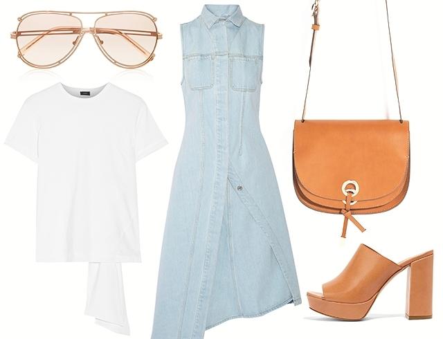 Офисная одежда летом
