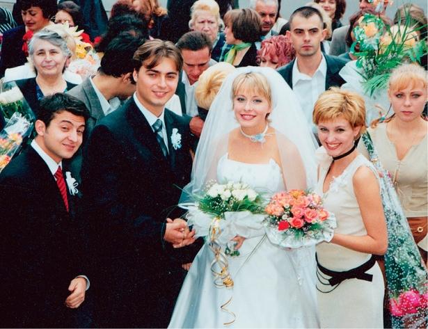 весілля олени кравець фото