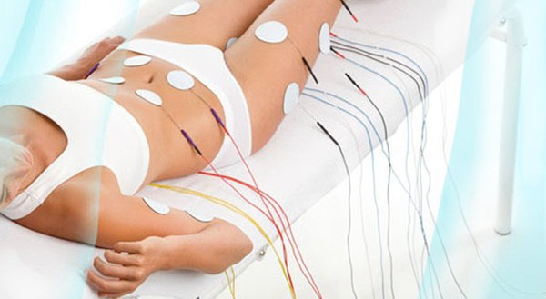 Стимуляция мышц спины.