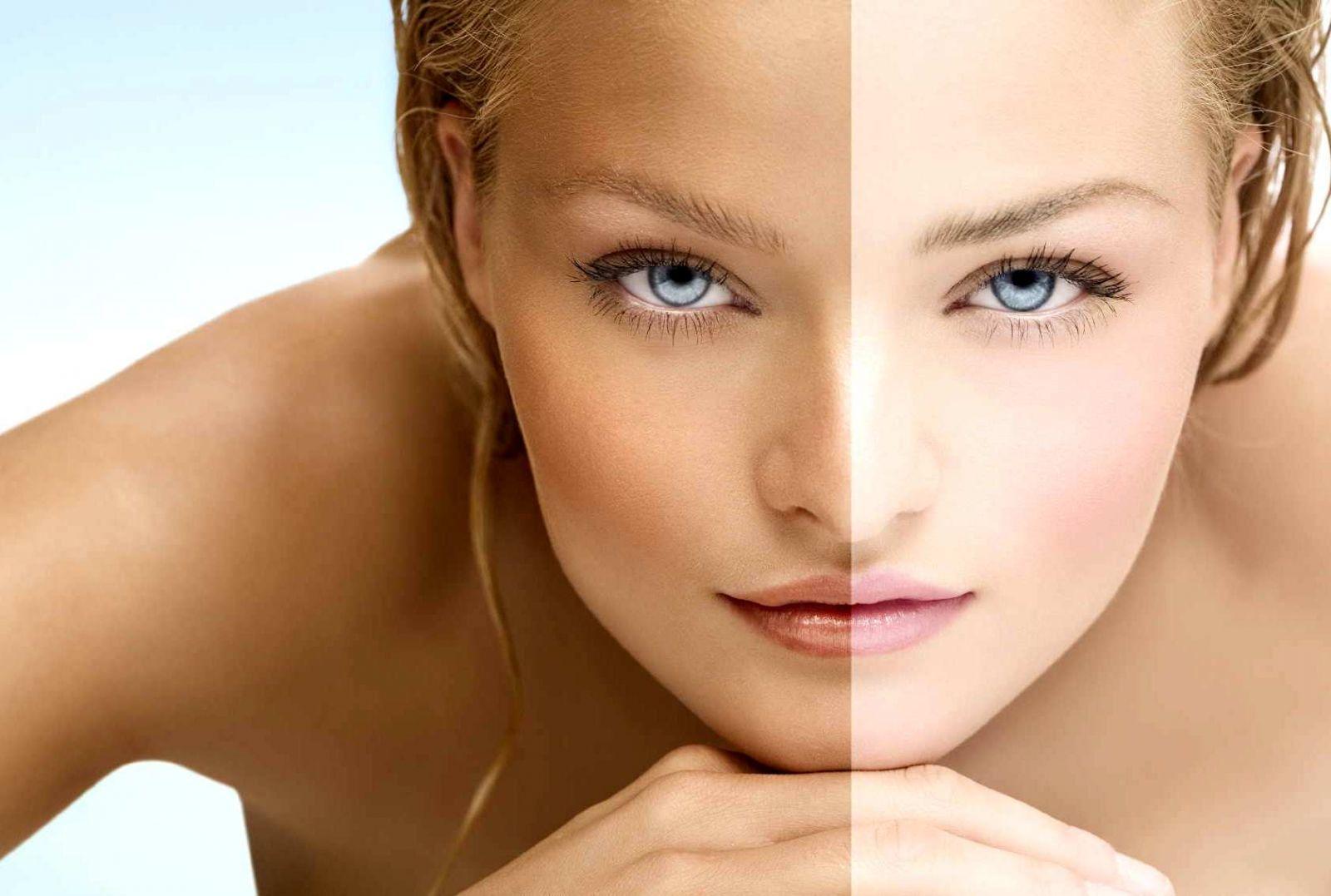 Как сделать кожу идеально белый