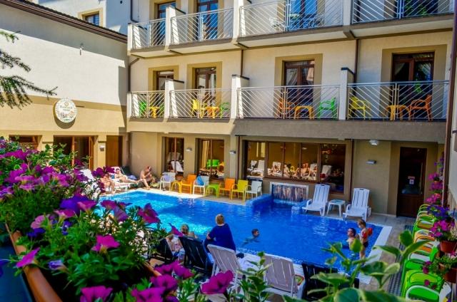 отель Romantik Spa Hotel