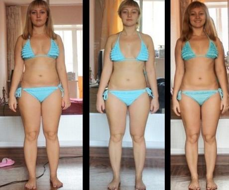 фитнес и диета для похудения в домашних
