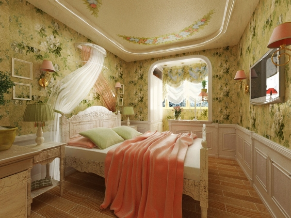 спальня в стиле прованс 2016