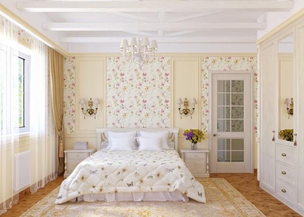 спальня <em>спальни</em> в стиле прованс