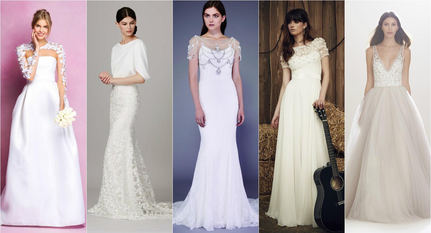 свадебное платье с лифом