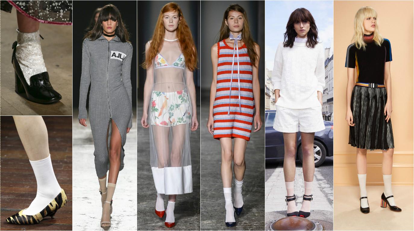 Фотографий девушка в платье и белых носках 7 фотография