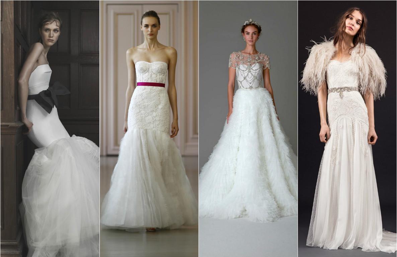 отделка свадебных платьев фото