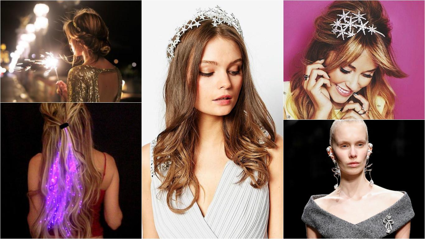 Прически для волос на новый год 2016