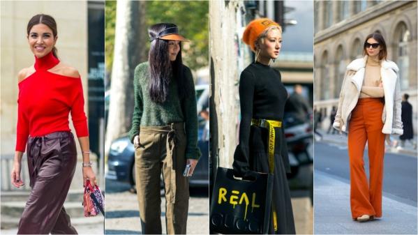 оранжевый тренд в моде фото
