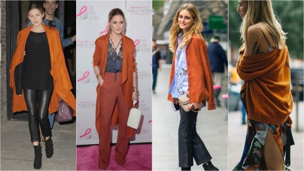оранжевая мода фото 2017