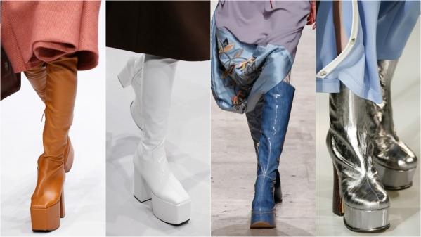 стильная зимняя обувь
