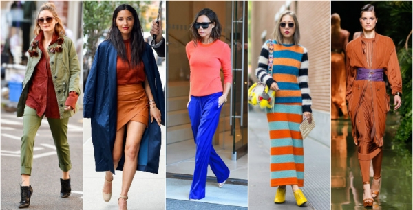 оранжевая мода 2017