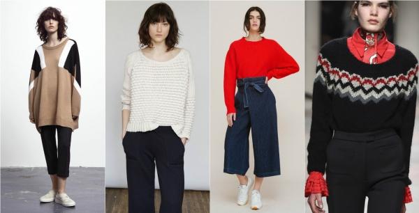 Мода Осень 2017 Кофты