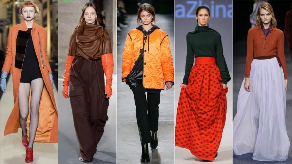 оранжевая одежда фото