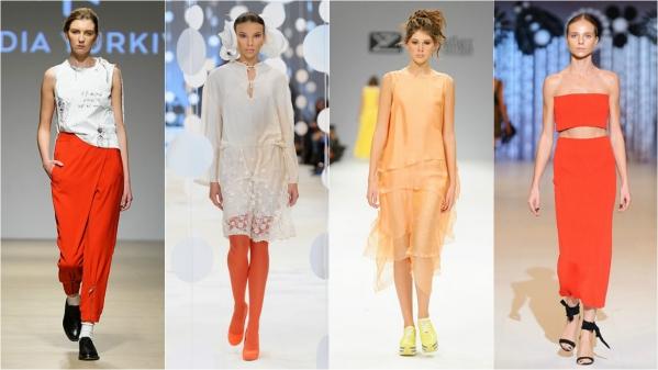 оранжевая одежда как носить