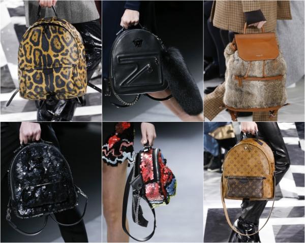модные рюкзаки зима 2017 фото новинки