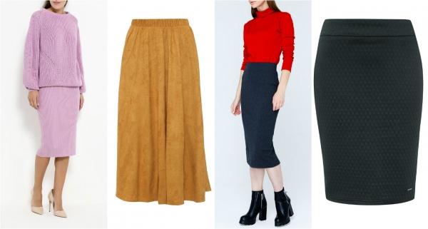 Модные теплые юбки, которые можно носить всю зиму - Фото