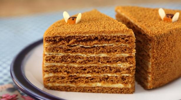 Рецепт медовика торта пошагово с фото