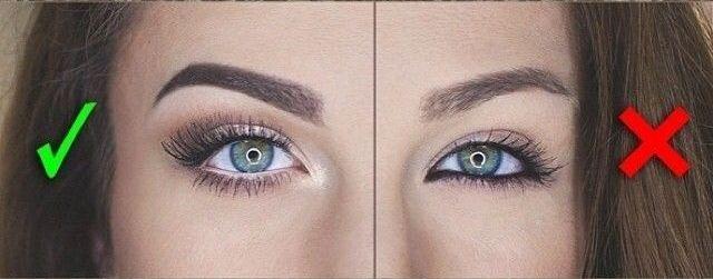 Как сделать глаза больше с помощью стрелок фото 554