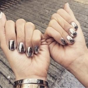 дизайн ногтей осень 2016