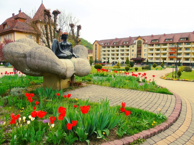 Лечебные курорты Закарпатья Солочин