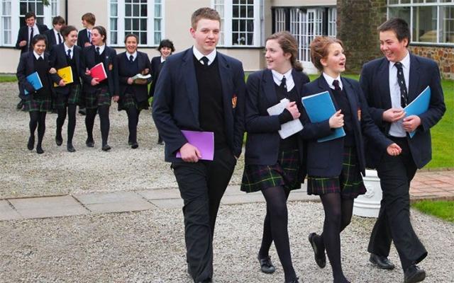 школьники в великобритании