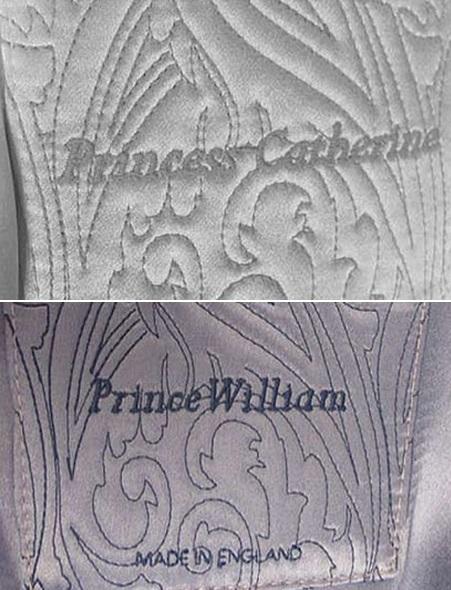 халаты для королевской семьи