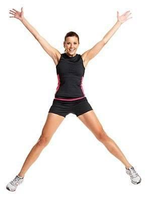 упражнение конькобежец фото