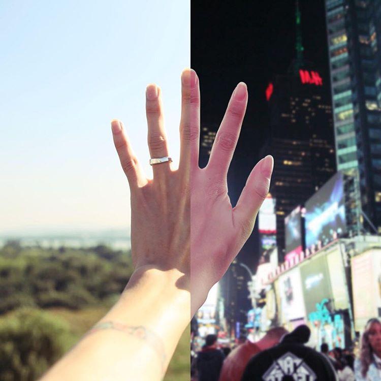 «Половинки»: пара придумала, как победить расстояние, разделявшее их любовь - фото №1