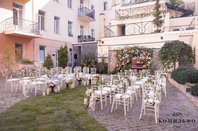 декор на свадьбе