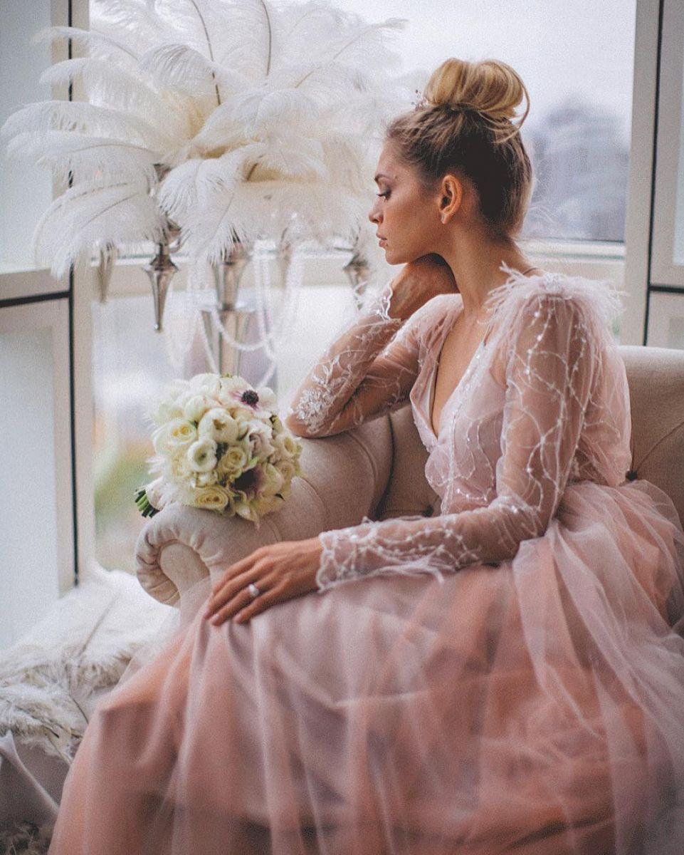 Свадебное платье брежневой