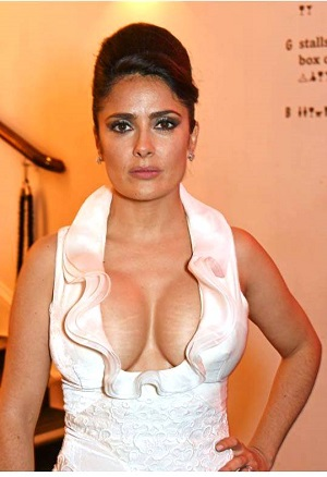 breast Salma hayeks