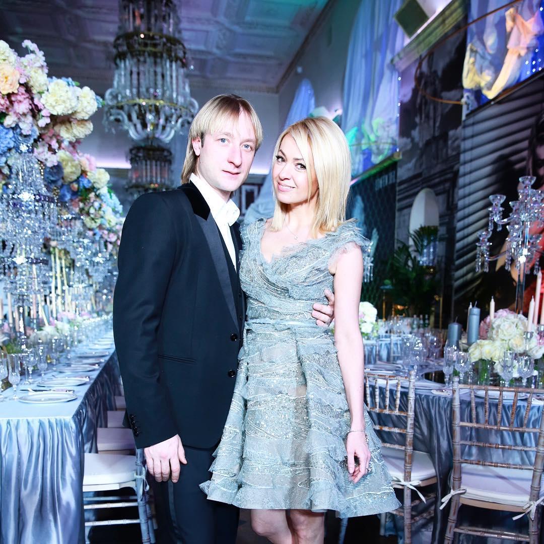 Рудковская с мужем
