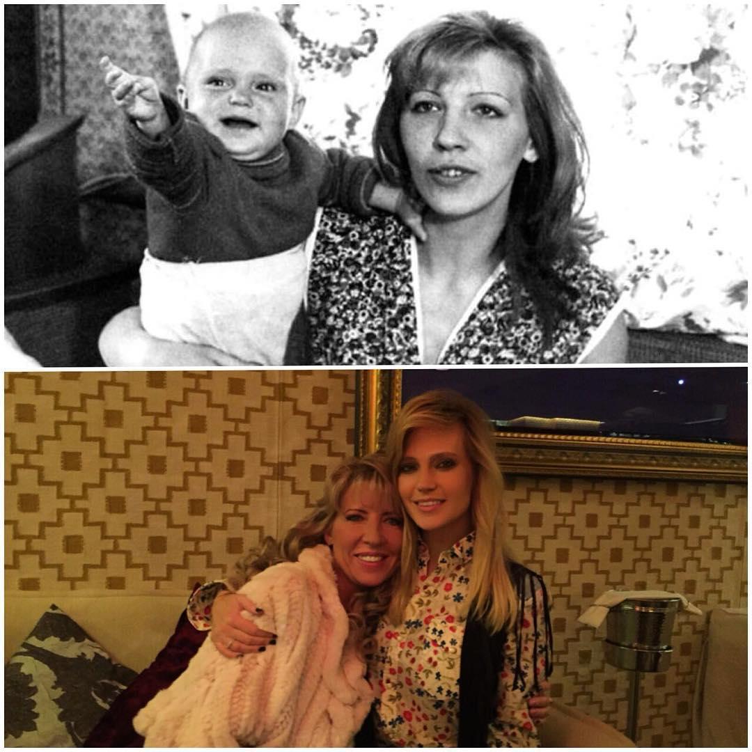 Наташа Ионова с мамой