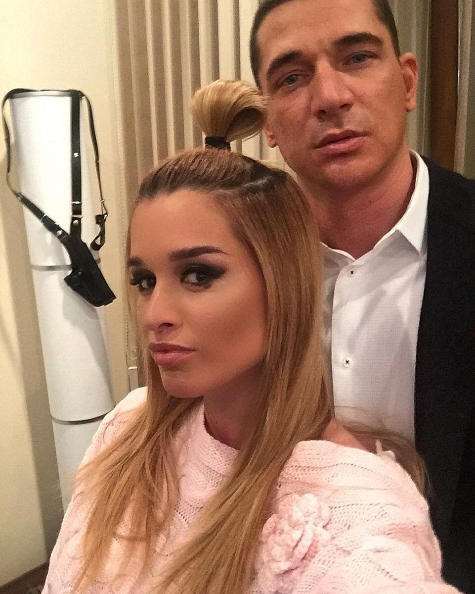 Бородина с мужем 2016