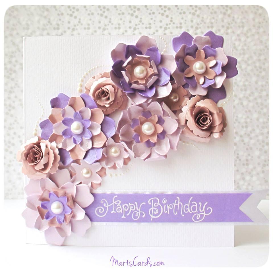 День рождения модная открытка