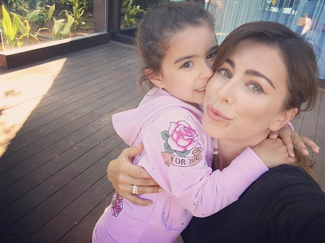 Лорак с дочкой