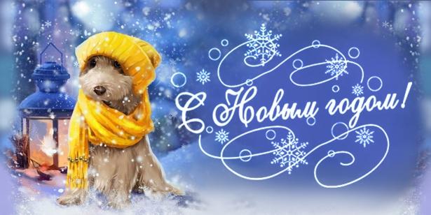Красивые поздравления с Новым годом 2018 в стихах, в прозе и тематические с годом Желтой Земляной Собаки