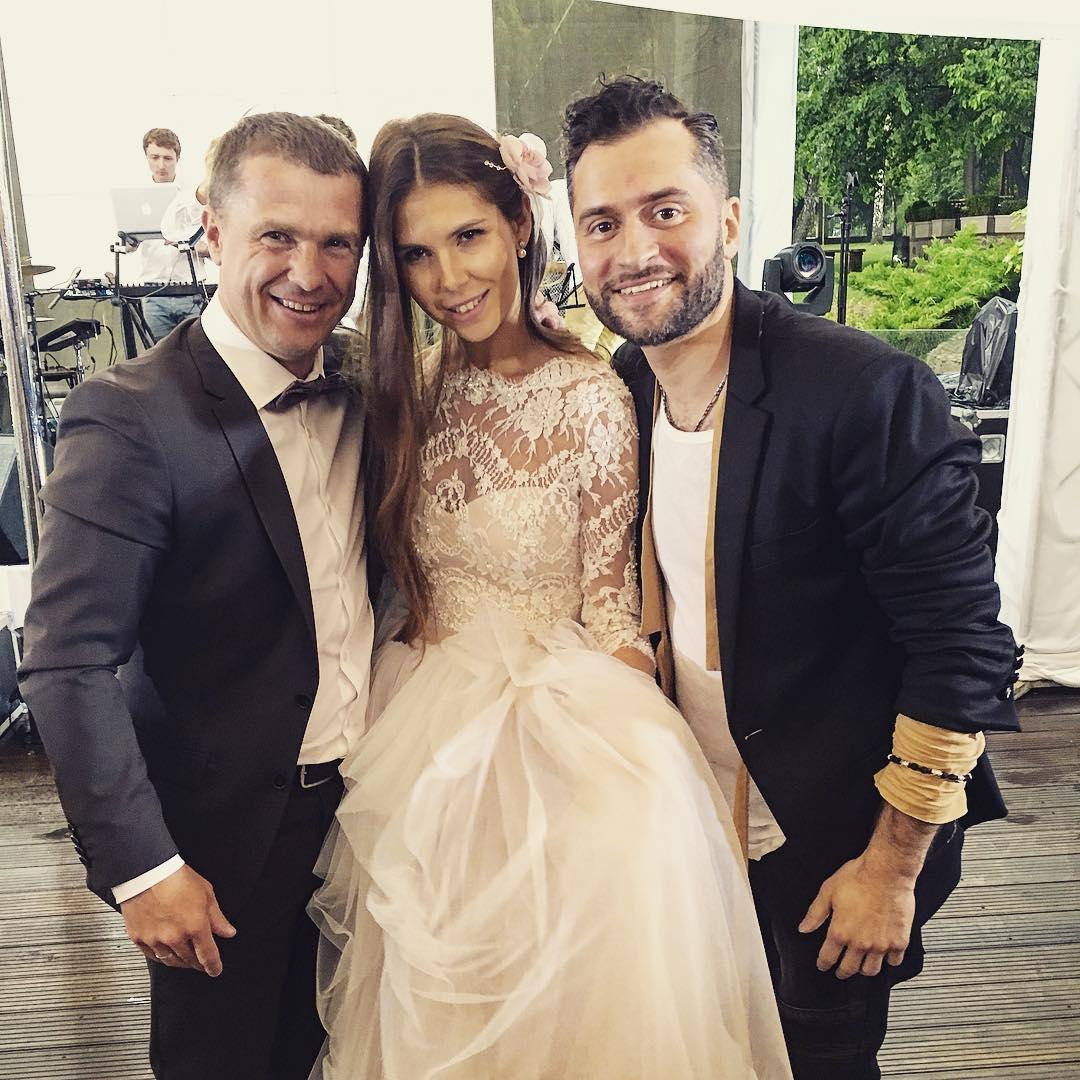 ребров женился 2016