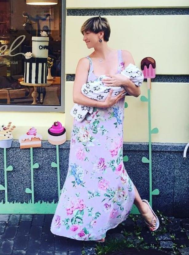 анита луценко как похудеть после родов